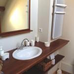 Salle de bain de la grande chambre double